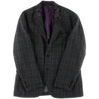 Robert Graham Mens Steinway Wool Classic Fit Sportcoat - 40