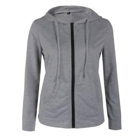 Women's French Terry Hoodie Sweatshirt