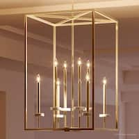 """Luxury Cosmopolitan Chandelier, 30.5""""H x 20""""W, with  Transitional Style, Palladian Gold Finish by Urban Ambiance"""