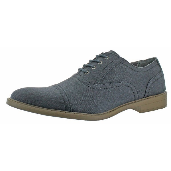 Calvin Klein Men's Gaige Canvas Lace-up Oxford Shoes