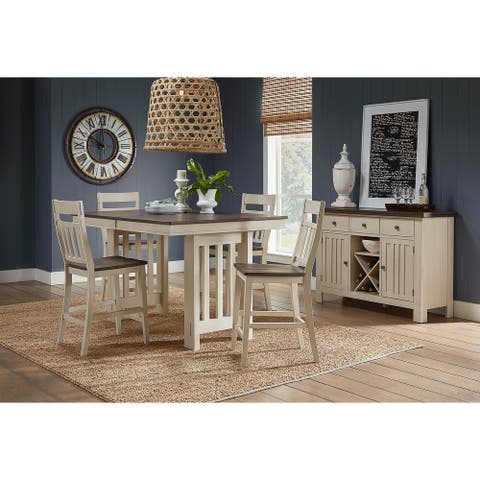 Simply Solid Bradley Solid Wood 5-piece Dining Collection