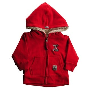 Case IH Toddler Boy's Zip-Up Sherpa Hoodie