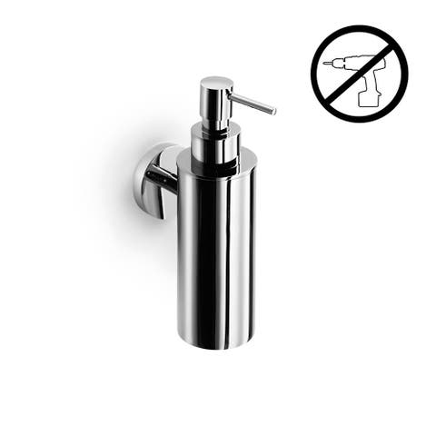 WS Bath Collections Duemila 5503-G Wall Mounted Brass Soap Dispenser - Polished Chrome