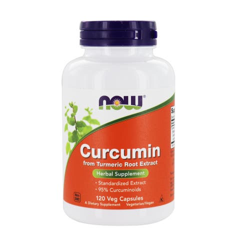 NOW Foods - Curcumin from Turmeric Root Extract 665 mg. - 120