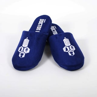 Doctor Who Tardis Adult Slippers