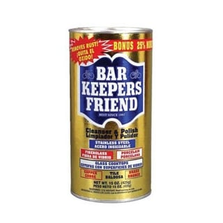 Servaas Laboratories 11510 Bar Keepers Friend Multi-Surface Cleanser & Polish With Mild Abrasives