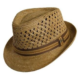 Tommy Bahama Crocheted Raffia Fedora Hat (3 options available)