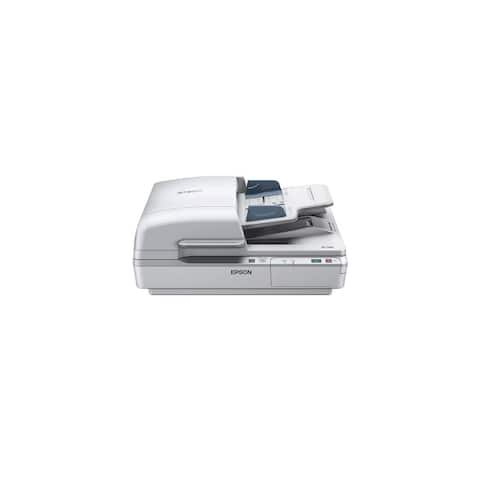Epson WorkForce DS-7500 Color Document Scanner w/ Ultrasonic Double-Feed Detection - Multicolor
