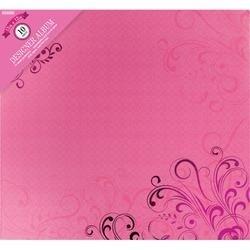 "Pink Foil Flourish - Colorbok Post Bound Album 12""X12"""