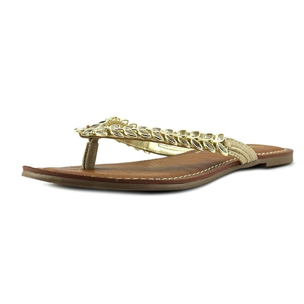 Carlos by Carlos Santana Heron Women Open Toe Canvas Thong Sandal