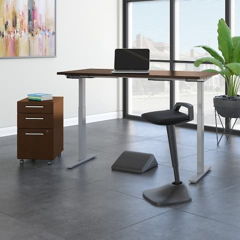 Move 60 Series Height Adjustable Desk Set by Bush Business Furniture