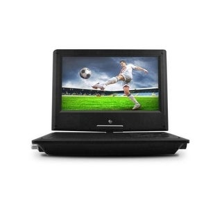 Dvd Player, Ematic 7 Inch Swivel Black Portable Dvd Player With Matching Headphones And Bag [ Epd707rd ]
