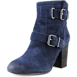Vince Camuto Simlee Round Toe Suede Ankle Boot