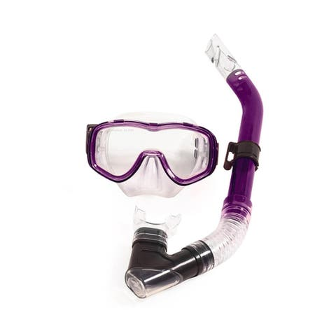 Purple Reef Diver Teen Scuba Mask and Snorkel Dive Set