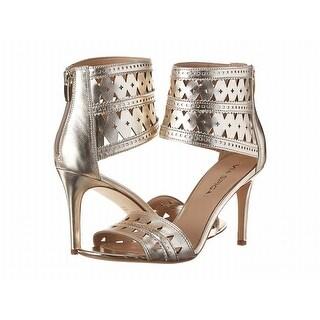 Via Spiga NEW Gold Women's Shoes Size 6M Vanka Leather Sandal