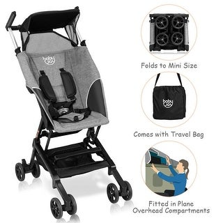 Costway Buggy Portable Pocket Compact Lightweight Stroller Easy