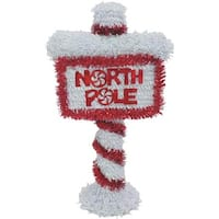 "F C Young 14"" 3D North Pole Sign 3D-NPOLE Unit: EACH Contains 6 per case"