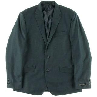 Kenneth Cole New York Mens Linen Blend Slim Fit Sportcoat