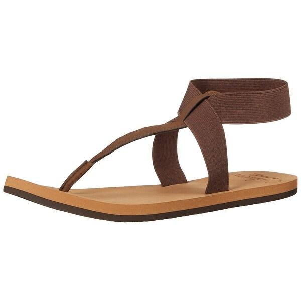 Reef Womens Cushion Moon Split Toe Casual Sport Sandals