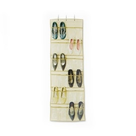 Over the Door Pocket Shoe Organizer