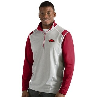University of Arkansas Men's Automatic Half Zip Pullover