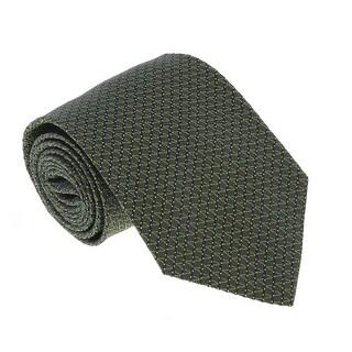 Missoni U4805 Olive/Navy Pencil 100% Silk Tie - 60-3