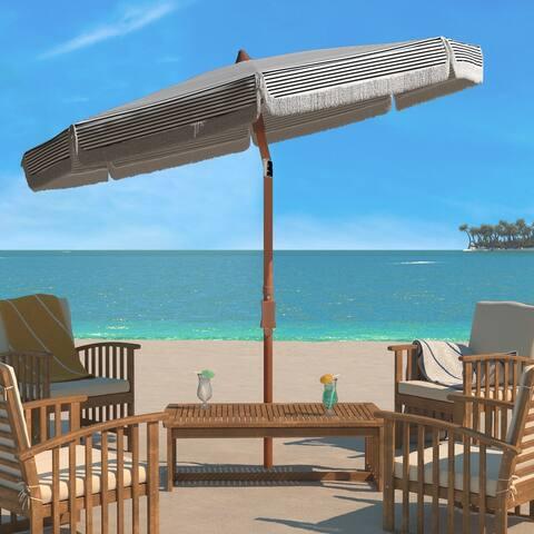 SAFAVIEH Outdoor Copen 6.5 Ft Umbrella