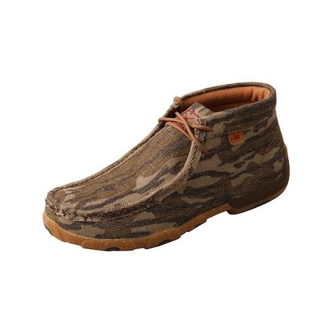 Twisted X Casual Shoes Womens Chukka Lace Up Mossy Oak - Mossy Oak Camo