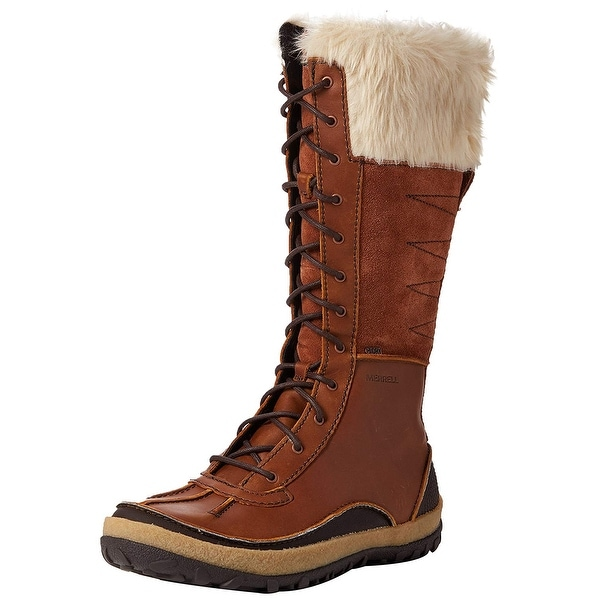 dbf584c1c0 Shop Merrell Women's Tremblant Tall Polar Waterproof Snow Boot - 9.5 ...