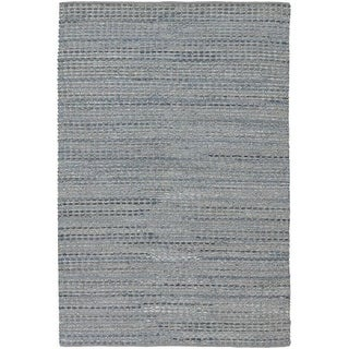 Chandra Rugs Easton 7200 Blue Leather Blend Area Rug Flat Weave In India Ping The Best Deals On Accent Pieces