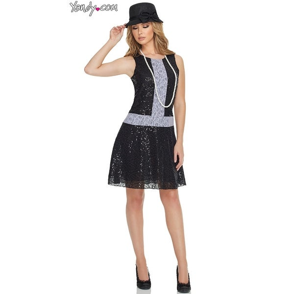 3dfe259b59ab Shop Sequin 1920s Flapper Costume, Hoty Sequin Flapper Dress - Free  Shipping On Orders Over $45 - Overstock - 17885712