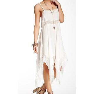 Intimately Free People White Womens Size Medium M Lace Slip Dress