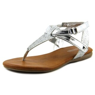 Kenneth Cole Reaction Daze- In Love 2Y Toddler Open Toe Synthetic Silver Sandals
