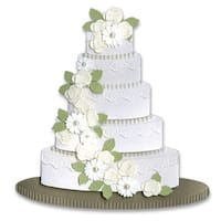 Jolee's Dimensional Embellishments-Wedding Cake