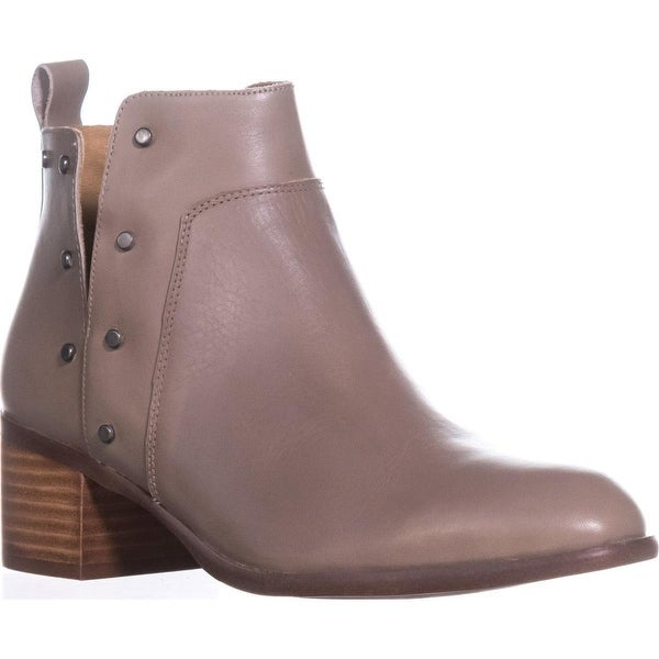 Franco Sarto Richland Studded Ankle Boots, Taupe