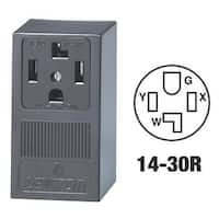Leviton Surface Dryer Outlet 55054 Unit: EACH