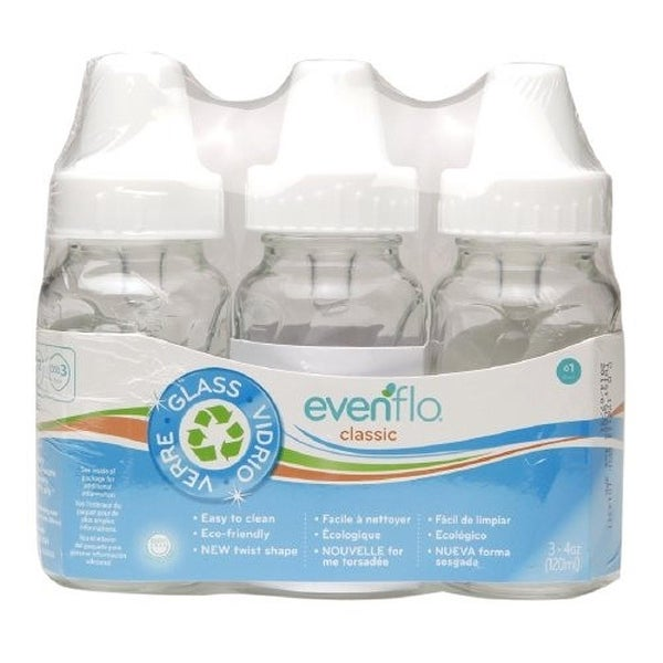 Evenflo Classic 4-oz Glass Bottles - 3 Pack