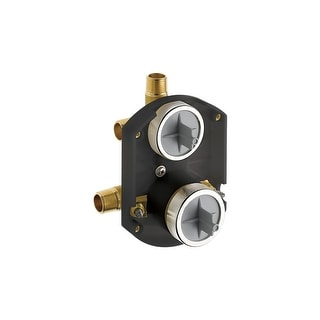 Delta R22000-WS  Multichoice Shower Only Universal Rough In with Three Port Diverter and Stops - No Tub Outlet