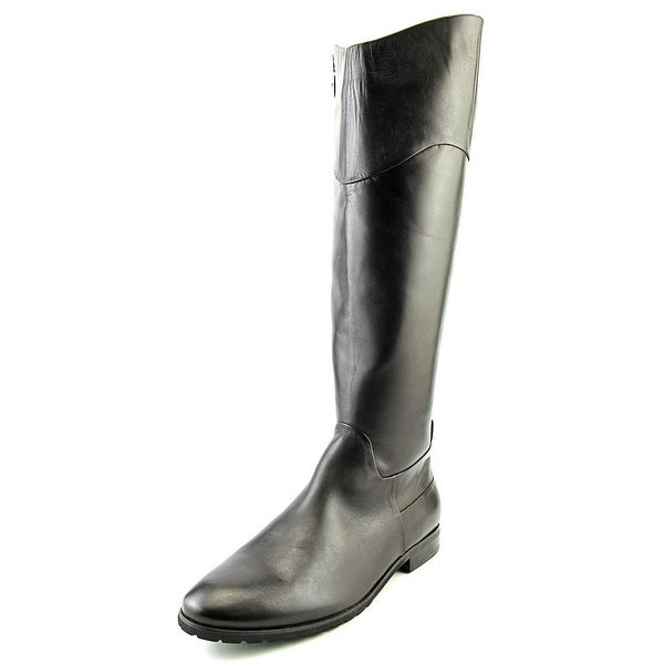 Spring Step Pinnacle Women Round Toe Leather Black Boot