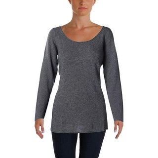 Sofie Womens Pullover Sweater Cashmere Long Sleeves