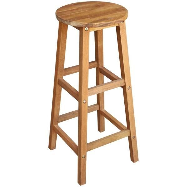 Pleasant Shop Vidaxl Solid Wood Bar Table And Stool Set 3 Piece Ibusinesslaw Wood Chair Design Ideas Ibusinesslaworg