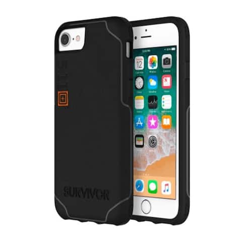 Griffin Survivor 5.11 Strong Tactical Edition Strong Case for iPhone 8/7/6s/6 - Black/Gray - Black