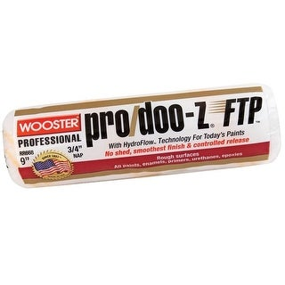 """Wooster RR668-9 Pro/Doo-Z Ftp Roller Cover, 3/4"""", 9"""""""
