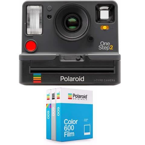 Polaroid OneStep2 i-Type Camera (Graphite) w/ Core Film Triple Pack