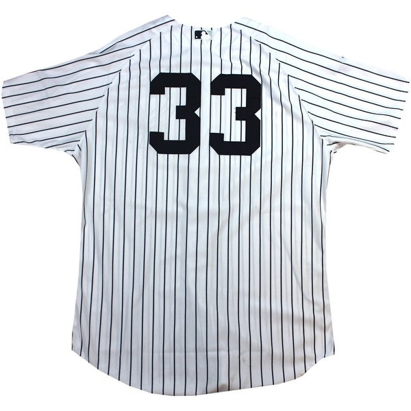 Travis Hafner Jersey NY Yankees 9222013 Game Issued 33 Mariano Rivera Final Season Jersey
