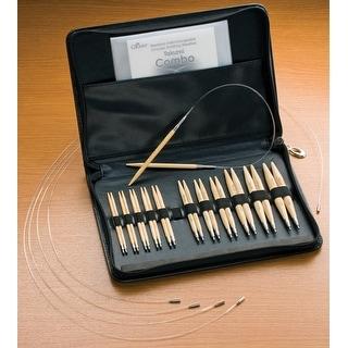 Takumi Bamboo Interchangeable Circular Knitting Needle Set-