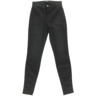 J Brand Womens Vida Twill Mid-Rise Skinny Jeans - 25