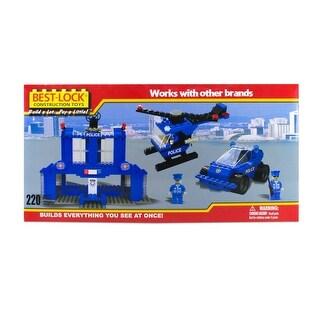 Best-Lock Police Headquarters 220 Piece Set