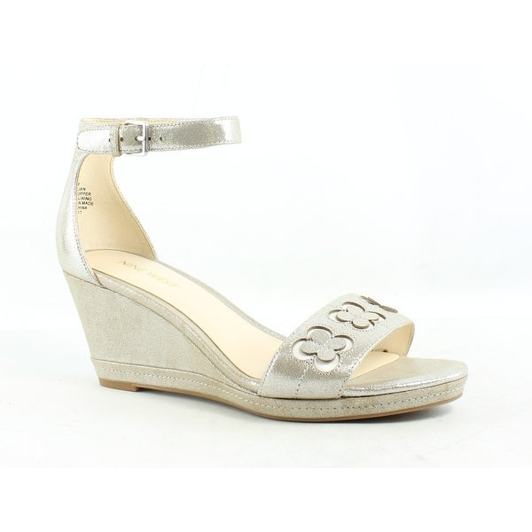 defb1d54b98 Shop Nine West Womens Silver Ankle Strap Heels Size 8 - On Sale - Free  Shipping On Orders Over  45 - Overstock - 26412131