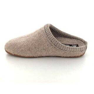 Haflinger Mens Dakota Dynamic Wool Closed Toe Slip On Slippers